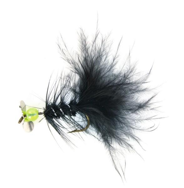 Quantum Specialist Vibro Fliege schwarz Hakengröße 4