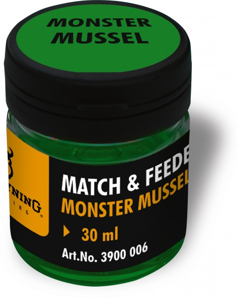 Browning Match & Feeder Dip grün Monster Mussel