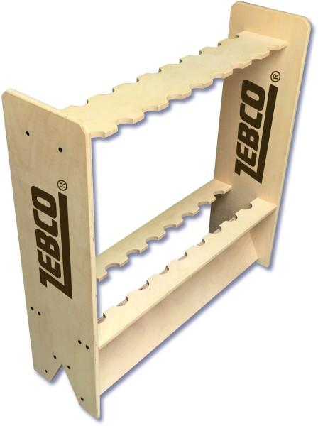 Zebco Holzrutenständer Länge 70 cm