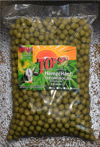Top Secret Canabis Edition Cannabis Feeding-Boilies 18mm 5 kg