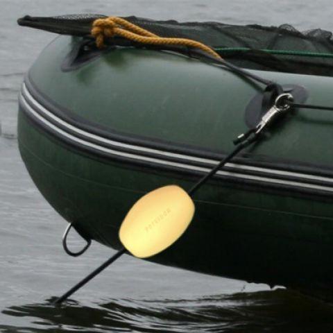 Poseidon Angelsport Bootshalterung mit Blitzlösemechanismus gelb