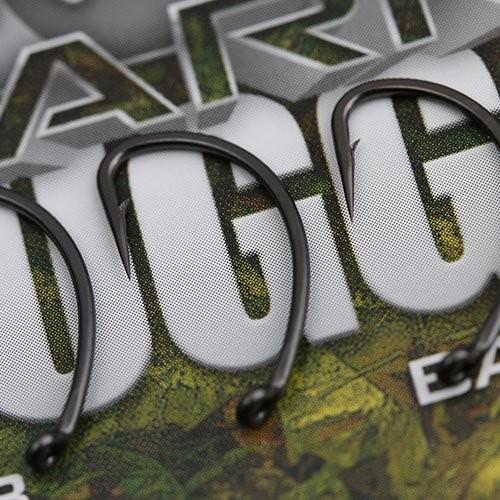 Gardner Covert Dark Mugga Hooks Barbed Size 8