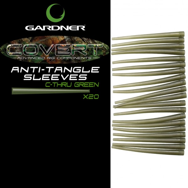 GARDNER COVERT ANTI-TANGLE SLEEVES C-THRU GREEN