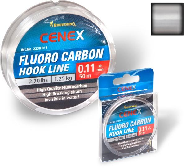 Vorteilspack Browning Cenex Fluoro Carbon Hook Line