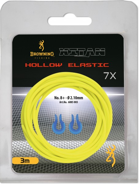 """Browning """"Stretch 7"""" Hollow Pole Elastic 2,1 mm 8+ gelbe"""