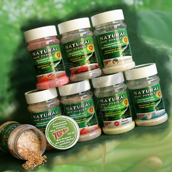 Top Secret Natural Bait Powder Strawberry 150g