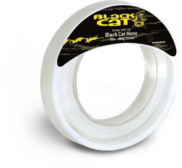 Rhino Black Cat Black Cat Mono Line Durchmesser 1,2 mm Tragkraft 150 lb 68 kg