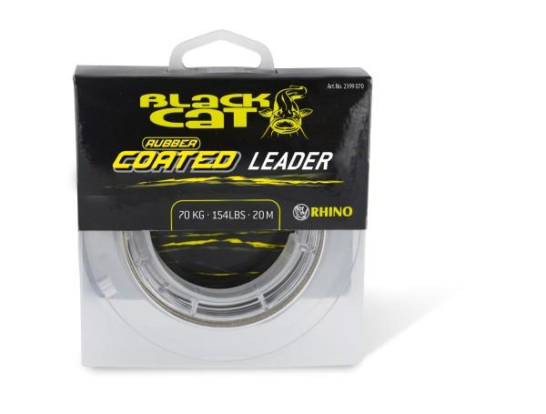 Rhino Black Cat Rubber coated Leader Farbe grau Tragkraft 100 kg