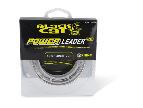 Rhino Black Cat Black Cat Power Leader 1,10 mm 330 lbs 150 kg