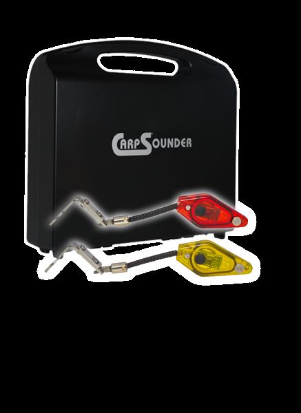Carp Sounder 2 x Dropstar LX mini LED nach Wahl im Koffer