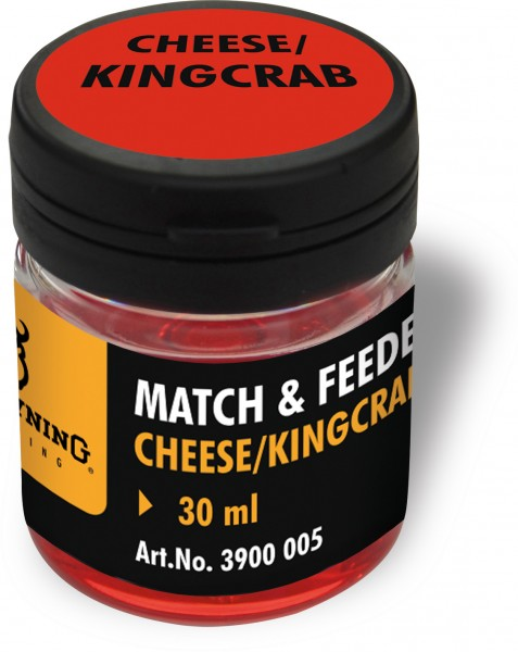 Browning Match & Feeder Dip rot Cheese/Kingcrab