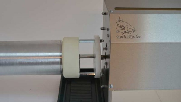 Boilieroller Pellet maker 8 und 12mm plus 8 Kg Boilie Gun