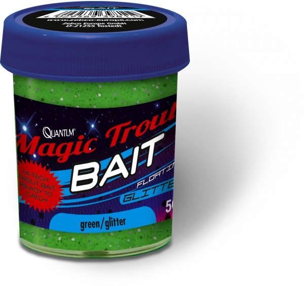 Quantum Specialist Magic Trout Bait Glitter Glitter weiß / glitter