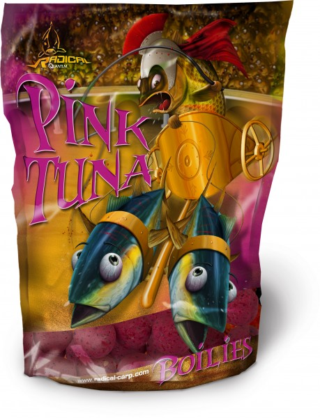 Quantum Radical Pink Tuna Boilie 20 mm