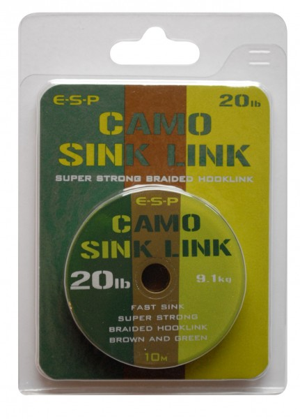E-S-P Camo Sink Link brown / green25 lb