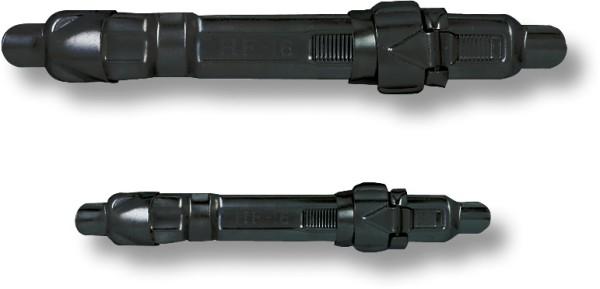 Zebco Klapp Rollenhalter, schwarz Größe S