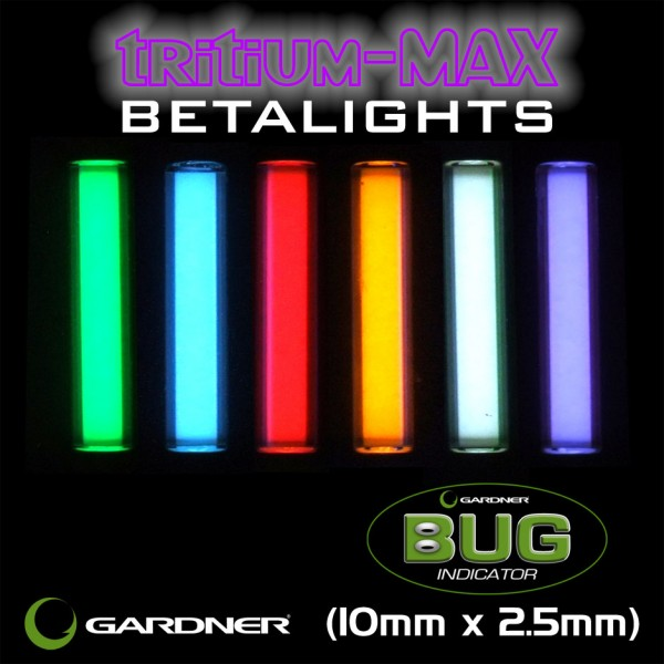 GARDNER BUG BETALIGHT RED *TRITIUM-MAX*