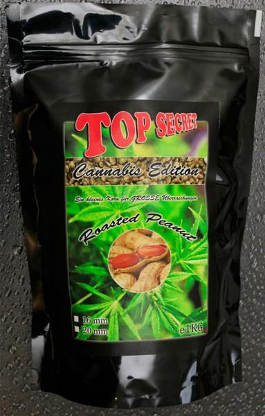 Top Secret Canabis Edition Cannabis-Boilies Roasted Peanut 10 mm 1 kg