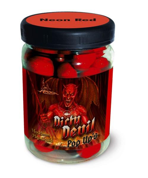 Quantum Radical Dirty Devil Neon Pop Up 16 mm + 20 mm
