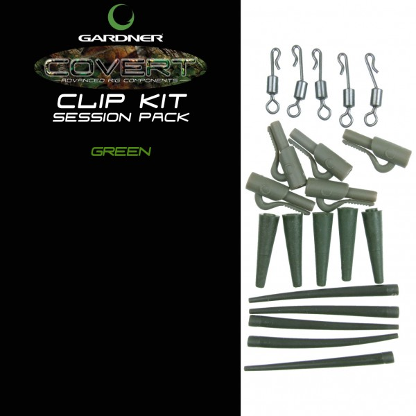 GARDNER COVERT CLIP KIT SESSION PACK GREEN