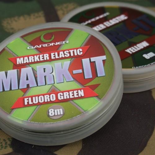 GARDNER MARKER ELASTIC FLUORO GREEN