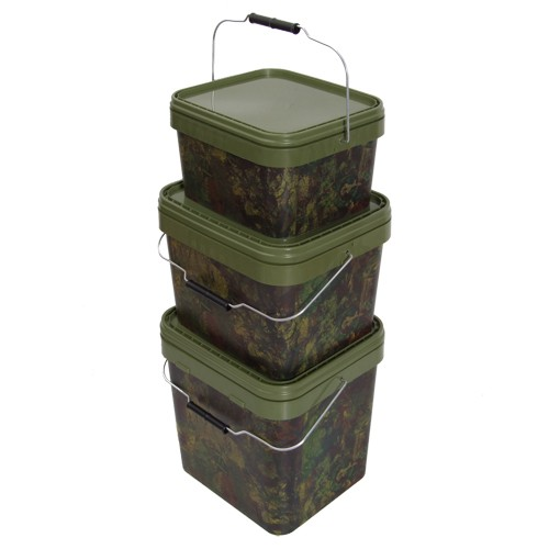 GARDNER SQUARE CAMO BUCKET MEDIUM (17 LITRE)