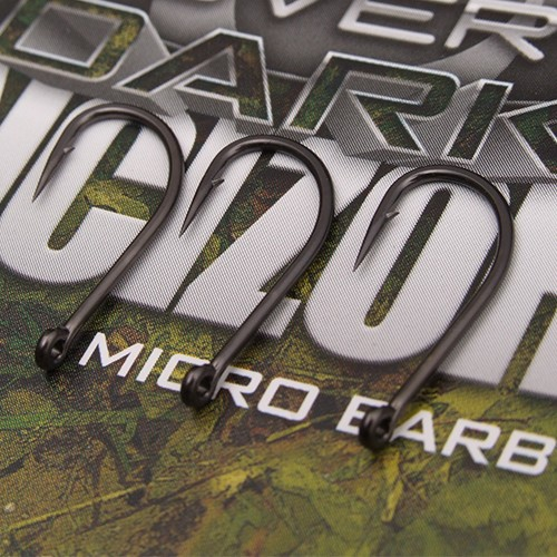 Gardner Covert Dark Incizor Hooks Barbed Size 6