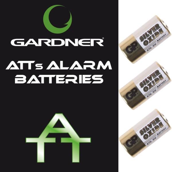 GARDNER ATTs ALARM BGARDNER ATTERIES (x3)