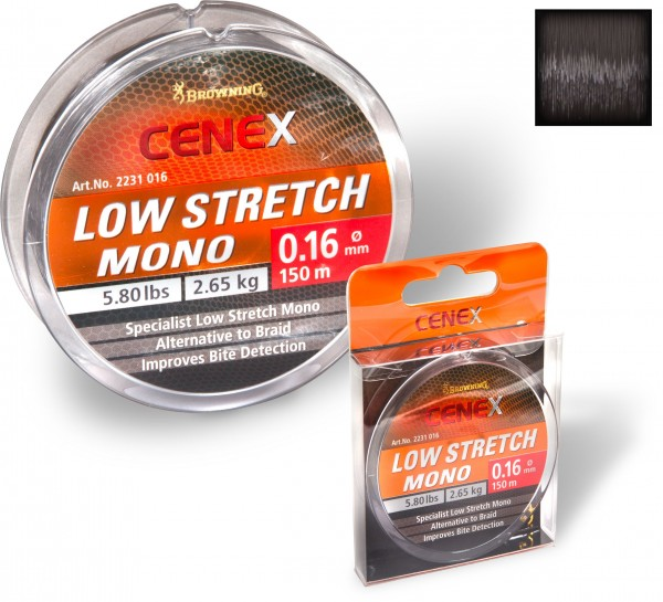 Vorteilspack Browning Cenex Low Stretch Mono