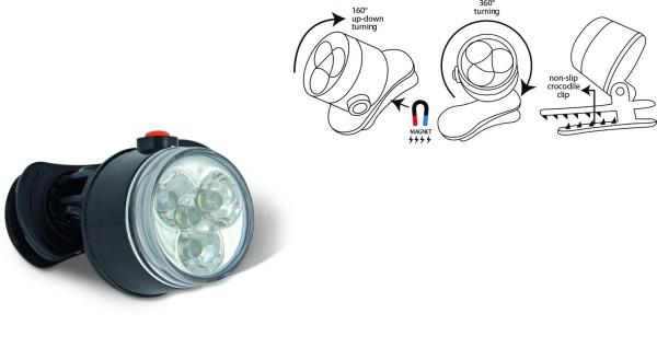 Zebco LED-Leuchte zum Anklemmen