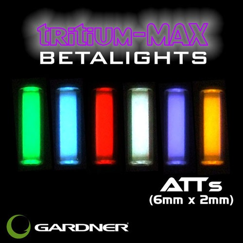 GARDNER ATTs BETALIGHTS ICE BLUE *TRITIUM-MAX* (pair)