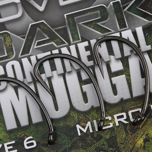 Gardner Covert Dark Continental Mugga Hooks Barbed Size 6
