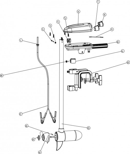 Rhino Cobold Ersatzteile Cobold Propeller