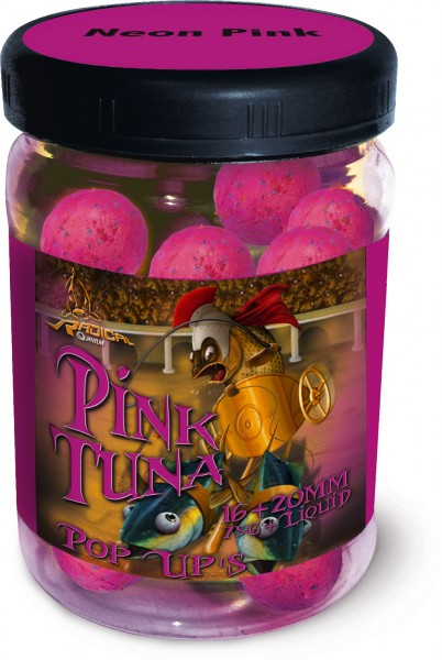 Quantum Radical Pink Tuna Neon Pop Up 16 mm + 20 mm