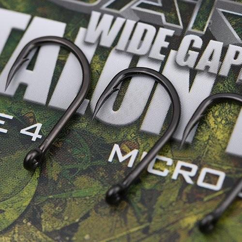 Gardner Covert Dark Wide Gape Talon Tip Hooks Barbed Size 6