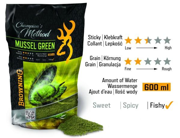 Vorteilspack Browning Champion's Method Mussel green