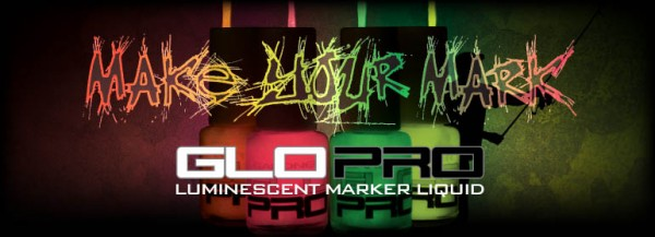 GLO PRO TWIN PACK LUMINOUS GREEN AND PINK YELLOW